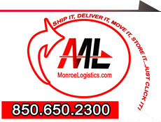 Monroe Logistices Expediting, Warehouseing, Logistics in the Southeast